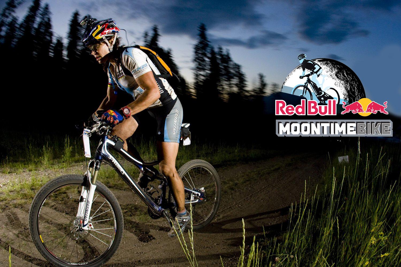 Red Bull MTB Logo Red Bull MoonTimeBike NoMad Multisport
