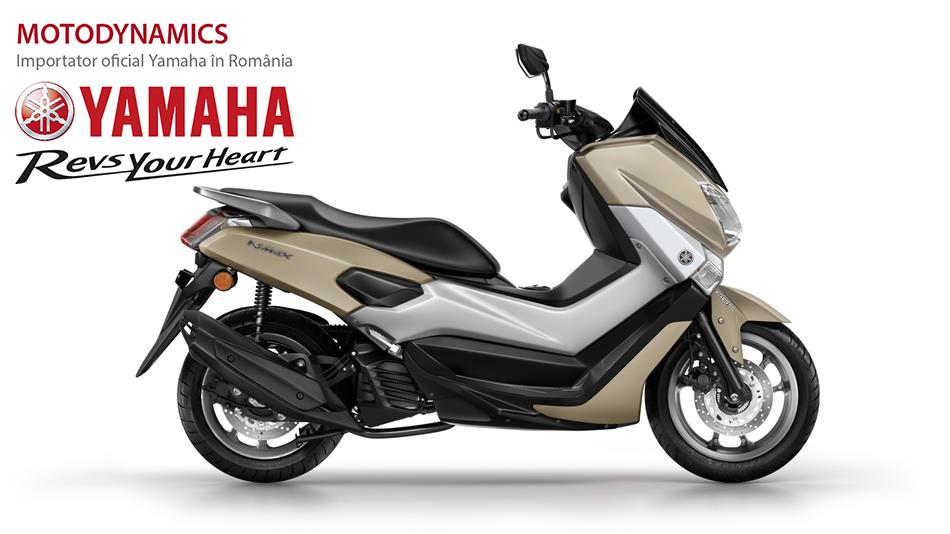 Yamaha N-Max Frozen Titanium