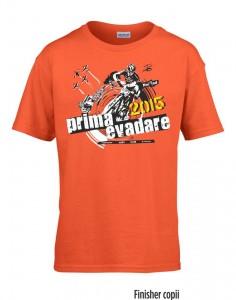 Tricou Prima Evadare - finisher - copii