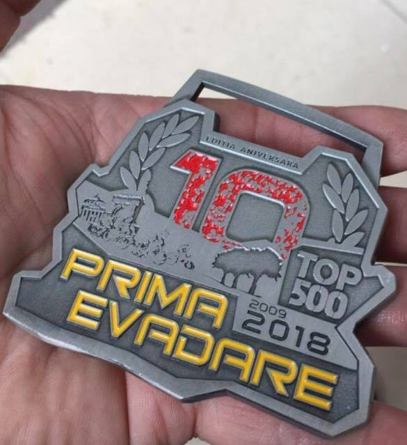 Medalia Prima Evadare - TOP 500